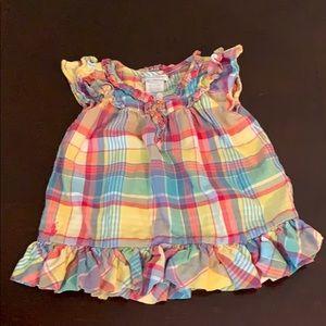 Ralph Lauren baby infant girl 6 month dress/tunic